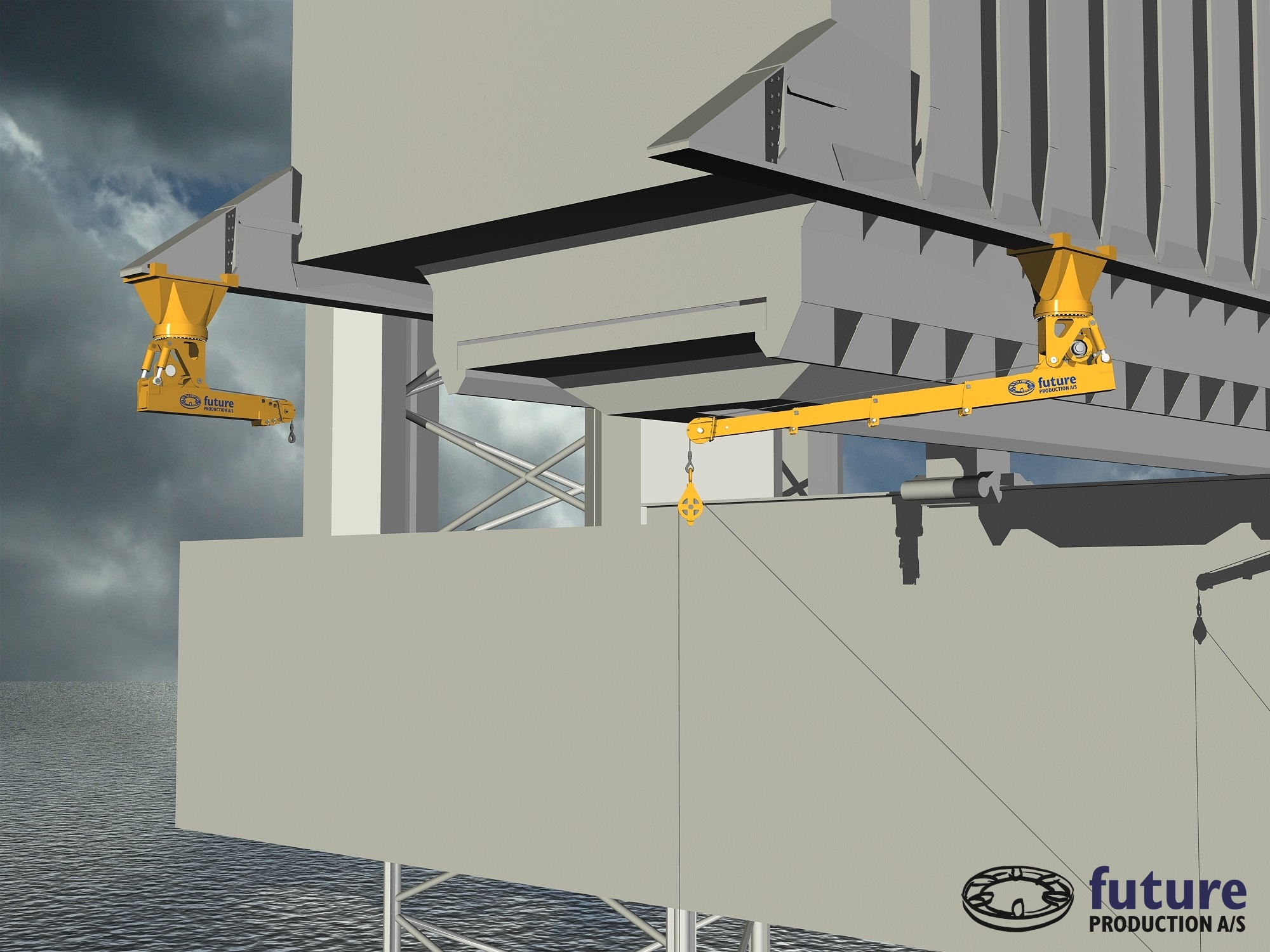Cantilever CombiCrane