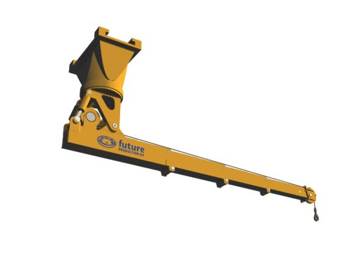 Cantilever CombiCrane extended